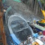 <p>橋の基礎掘削状況<br />平成28年3月26日</p>