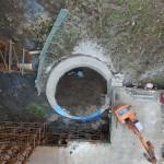 <p>橋の基礎掘削状況<br /> 平成28年4月18日</p>