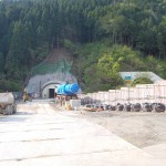 <p>用瀬IC側坑口全景<br />平成28年4月29日</p>