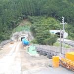 <p>トンネル坑口全景<br />平成28年6月30日</p>