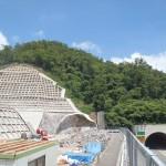 <p>鳥取南IC側坑口部全景<br />平成28年7月20日</p>