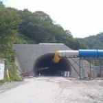 <p>トンネル坑口全景<br />平成28年7月20日</p>
