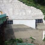 <p>橋台施工状況<br />平成28年9月末日</p>