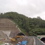 <p>鳥取南IC側坑口部全景<br />平成28年8月27日</p>
