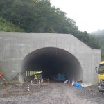 <p>トンネル坑口全景<br />平成28年9月26日</p>