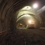 <p>トンネル掘削状況<br /> 平成29年6月30日</p>
