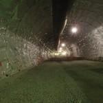 <p>トンネル覆工状況(防水シート設置)<br /> 平成29年6月30日</p>