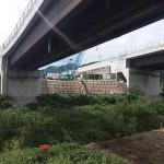 <p>橋脚側(右岸)<br /> 令和元年9月30日</p>